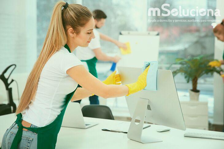 ¿Qué no podemos descuidar en la limpieza de oficinas?